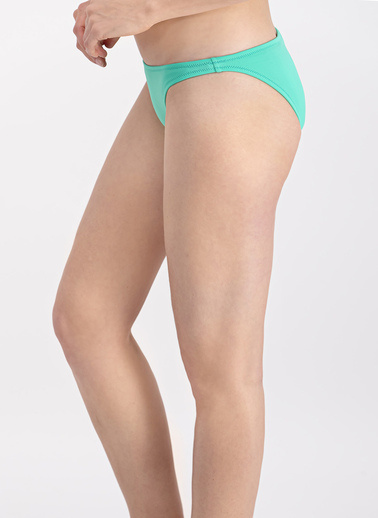 Arnetta  Turuncu Düşük Bel Bikini Altı Turkuaz